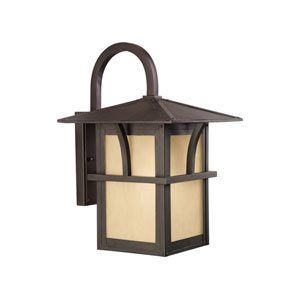 Medford Lakes Statuary Bronze Energy Star 17-Inch LED Outdoor Wall Lantern