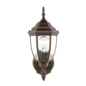 Bakersville Antique Bronze One-Light Outdoor Wall Lantern