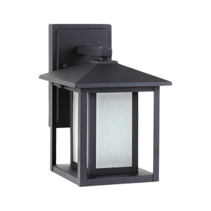 Hunnington Black Energy Star 11-Inch LED Outdoor Wall Lantern