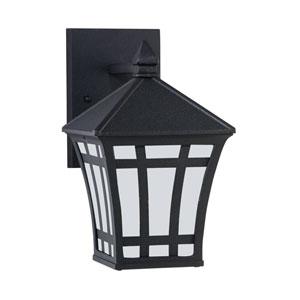 Herrington Black Energy Star 10-Inch LED Outdoor Wall Lantern