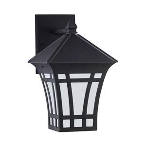 Herrington Black Energy Star 12-Inch LED Outdoor Wall Lantern