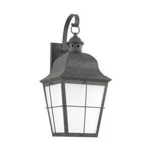Chatham Oxidized Bronze Energy Star 21-Inch LED Outdoor Wall Lantern