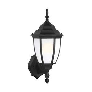Bakersville Black Energy Star 16-Inch LED Outdoor Wall Lantern