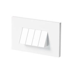 Tarpa White LED Horizontal Step Light