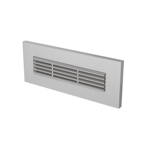 Louver Satin Nickel LED Turtle Friendly Brick Light