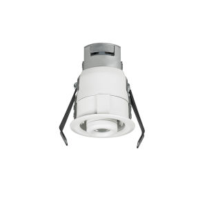 Lucarne White LED Recessed 12V 2700K Gimbal Round Down Light