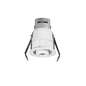 Lucarne White LED Recessed 24V 2700K Gimbal Round Down Light