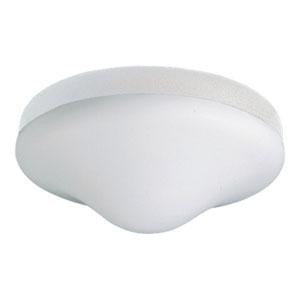 Two-Light White Ceiling Fan Light Kit