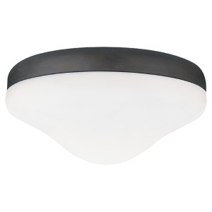 Roman Bronze Two-Light Fluorescent Ceiling Fan Light Kit