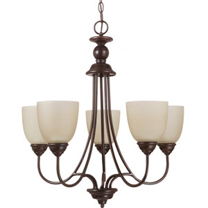 Lemont Burnt Sienna  Five-Light Chandelier