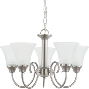 Holman Brushed Nickel  Five-Light Chandelier