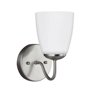 Bannock Brushed Nickel 5-Inch One-Light Bath Light