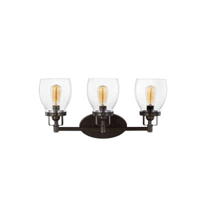 Belton Heirloom Bronze Three-Light Bath Fixture