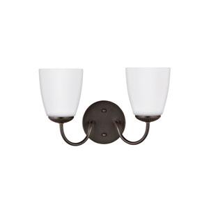 Bannock Heirloom Bronze 13-Inch Two-Light Bath Light