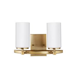 Alturas Satin Bronze 13.5-Inch Two-Light Bath Light