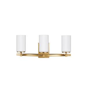 Alturas Satin Bronze 22-Inch Three-Light Bath Light