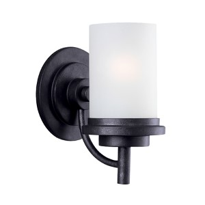 Winnetka Blacksmith One-Light Wall Mounted Bath Fixture