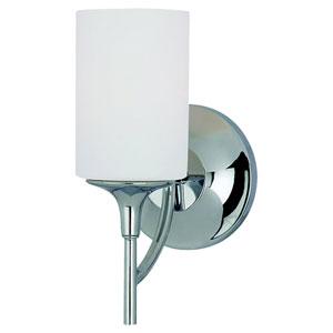 Stirling One-Light Chrome Bath Light