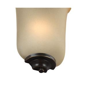 Heirloom Bronze 8-Inch One-Light Bath Light