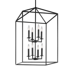 Perryton Blacksmith Eight-Light Lantern Pendant