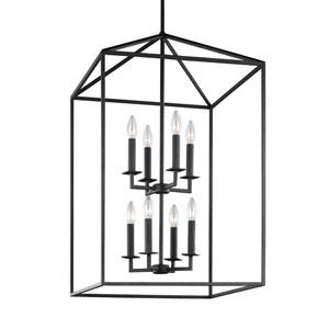 Perryton Blacksmith Eight-Light Lantern Pendant