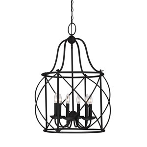 Turbinio Blacksmith 22-Inch Energy Star Six-Light Hall Foyer