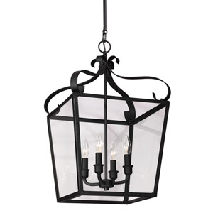 Lockheart Blacksmith Four-Light Pendant