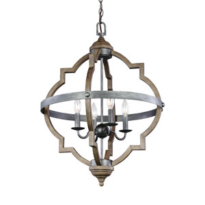 Socorro Stardust Four-Light Pendant