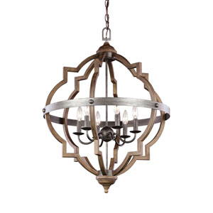 Socorro Stardust 25-Inch Energy Star Six-Light Hall Foyer