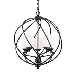 Goliad Blacksmith Five-Light Pendant