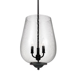 Morill Blacksmith 12-Inch Energy Star Three-Light Hall Foyer