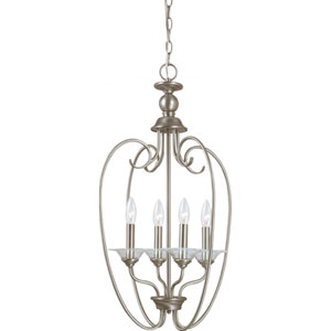 Lemont Antique Brushed Nickel  Four-Light Pendant