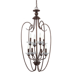 Lemont Burnt Sienna  Eight-Light Pendant
