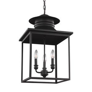Huntsville Blacksmith Three-Light Lantern Pendant