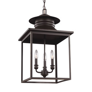 Huntsville Heirloom Bronze 14-Inch Energy Star Three-Light Hall Foyer
