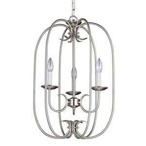Holman Brushed Nickel Three-Light