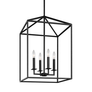 Perryton Blacksmith 12-Inch Energy Star Four-Light Hall Foyer