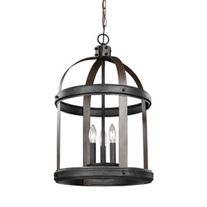 Lonoke Stardust 14-Inch Three-Light Hall Foyer