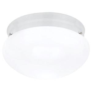 Webster White Two-Light Flush Mount