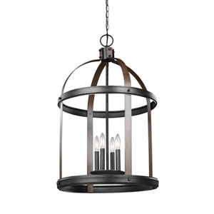 Lonoke Stardust 19-Inch Four-Light Hall Foyer