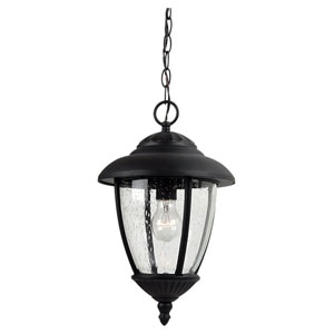 Lambert Hill Black Outdoor Pendant