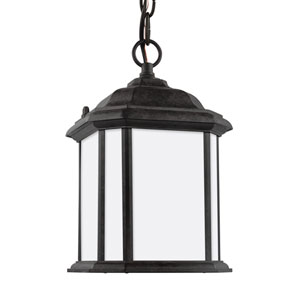 Kent Oxford Bronze One-Light Outdoor Pendant