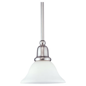 Sussex Brushed Nickel Mini Pendant