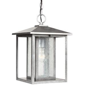 Hunnington Weathered Pewter  One-Light Outdoor Light