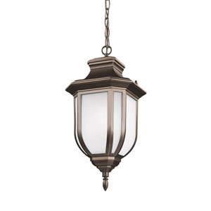 Childress Antique Bronze One-Light Outdoor Pendant