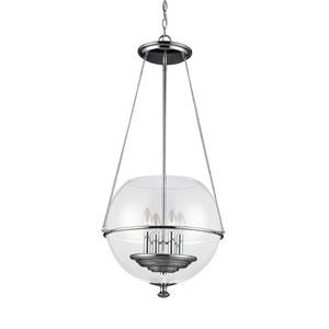 Havenwood Chrome Four-Light Globe Pendant