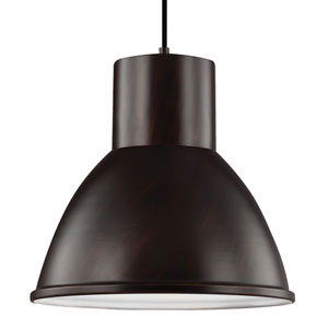 Division Street Burnt Sienna One-Light Pendant