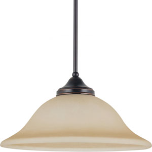 Brockton Burnt Sienna  One-Light Pendant