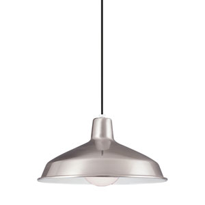 Brushed Stainless LED Pendant