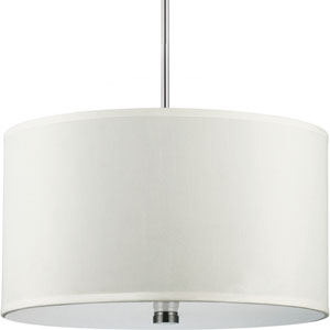 Dayna Brushed Nickel  Three-Light Pendant